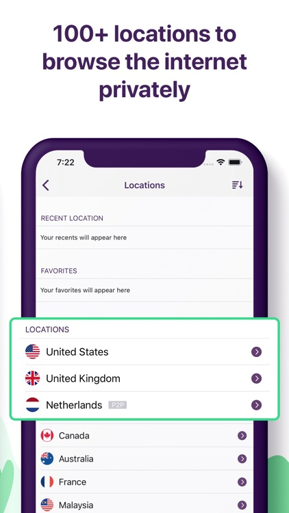 PureVPN: Best VPN for iPhone screenshot-3