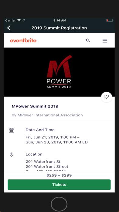 Screen Shot MPower International 5