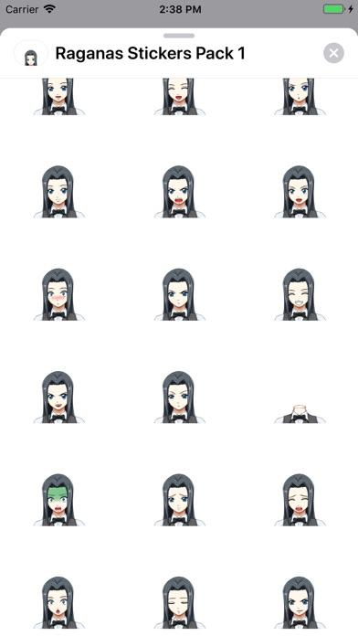 Screenshot for ラガナスステッカーパック1 in Japan App Store