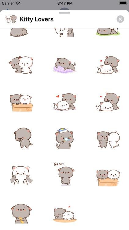 Kitty Lovers - Cat Stickers screenshot-4