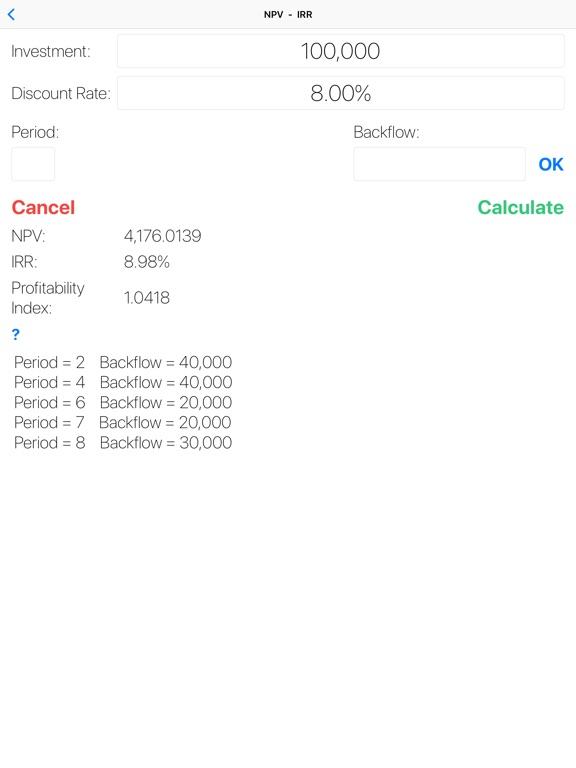 FinCalcPro Screenshots