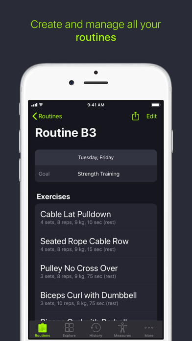 SmartGym: Gym & Home Workoutsのおすすめ画像4