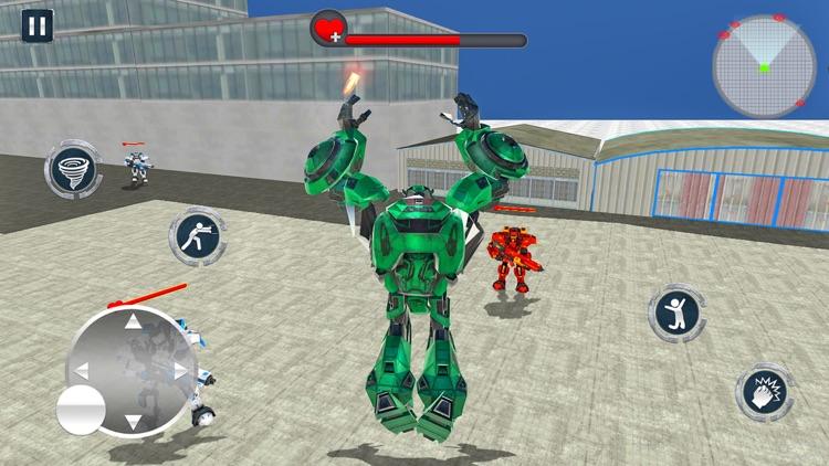 Tornado Robot Transforming War screenshot-5