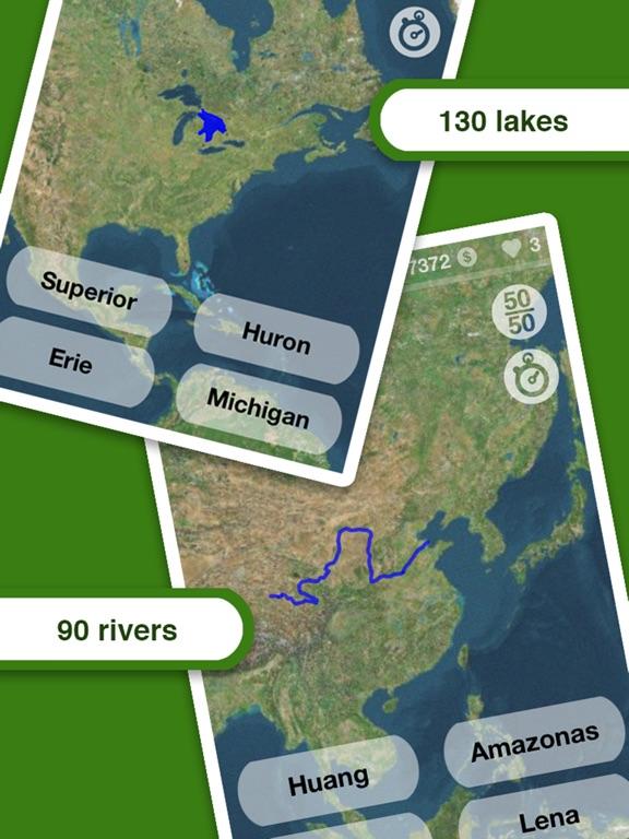 Geography Screenshots