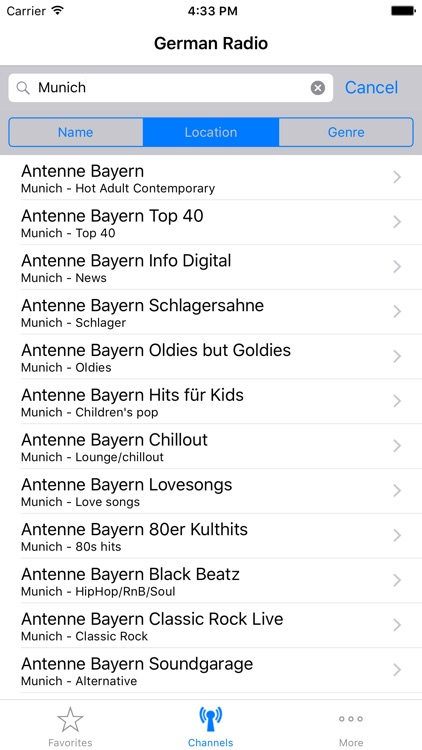 German Radio screenshot-4