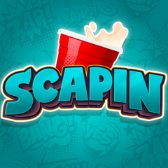 Scapin drinking game