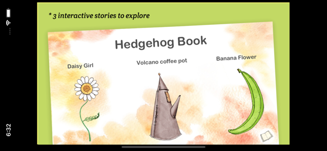 ‎Hedgehog Book Screenshot
