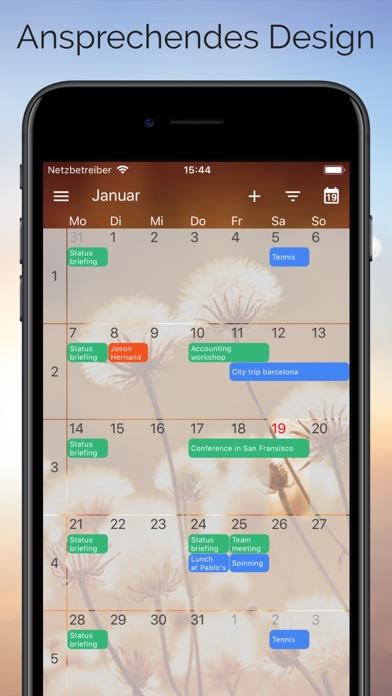 One CalendarScreenshot von 2