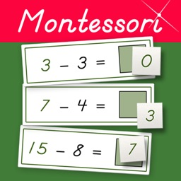 Montessori Subtraction Tables