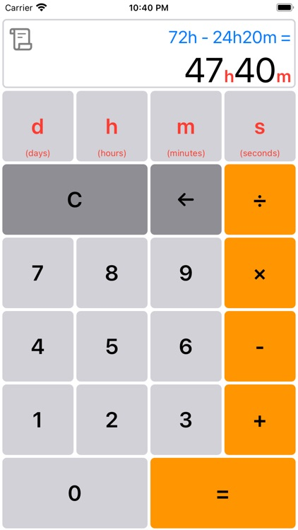 Time Calculator Simple&Easy