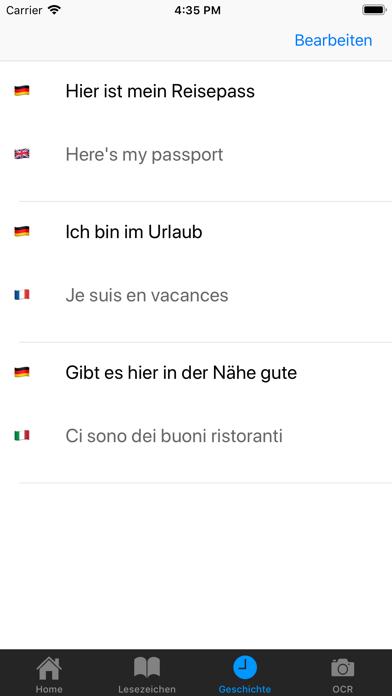Mein ÜbersetzerScreenshot von 5