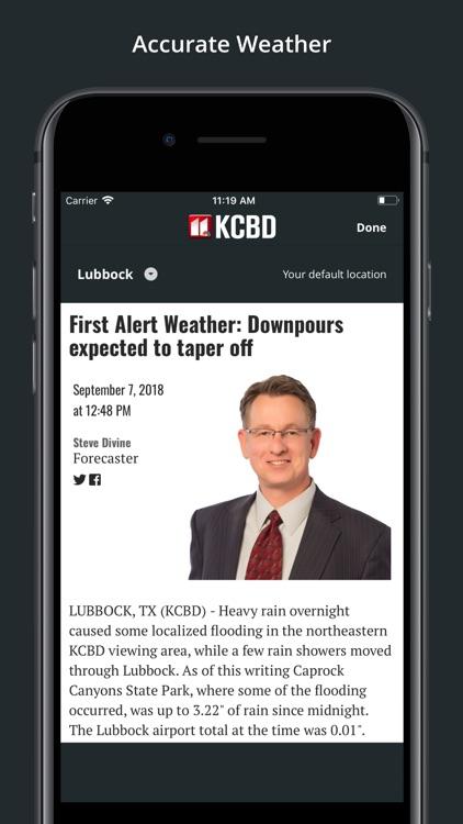 KCBD News Channel 11 screenshot-3