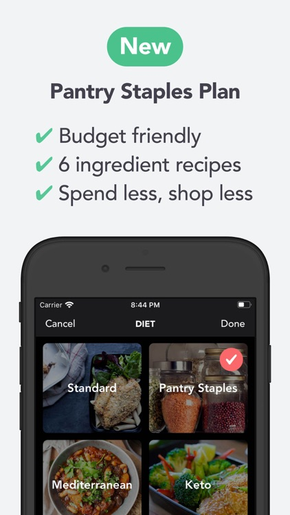 MealPrepPro: Meal prep planner