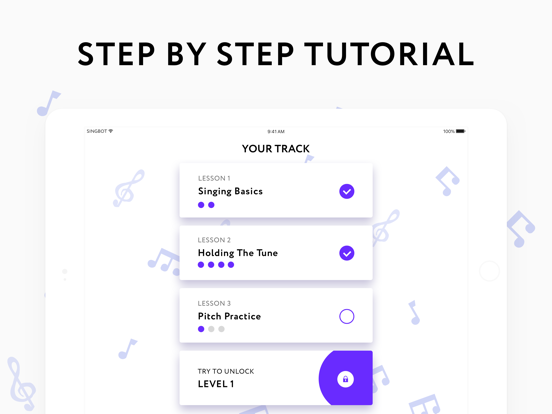 Sing bot — learn to sing