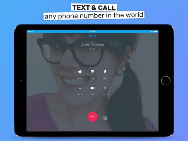 Text Me Telefonieren Sms Im App Store