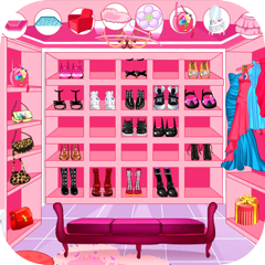 Decorate your walk-in closet