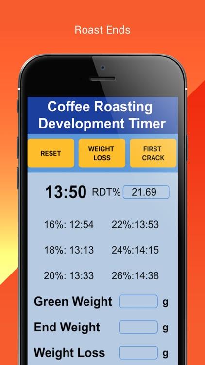 Coffee Roasting RDT Timer