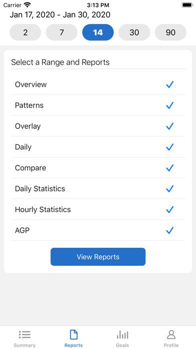 messages.download Dexcom CLARITY software