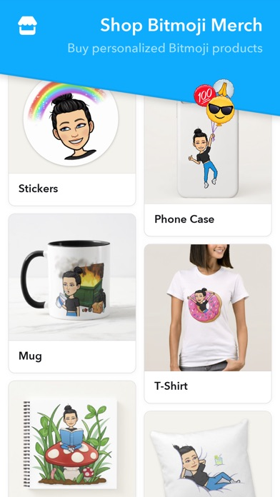 Screenshot for Bitmoji in Czech Republic App Store