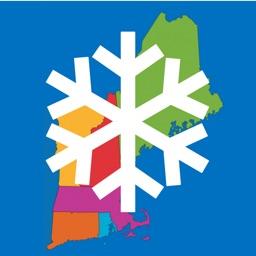 New England Snow Map