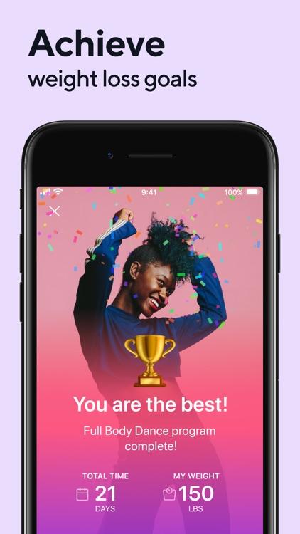 Organic Dance: Weight Loss App screenshot-7