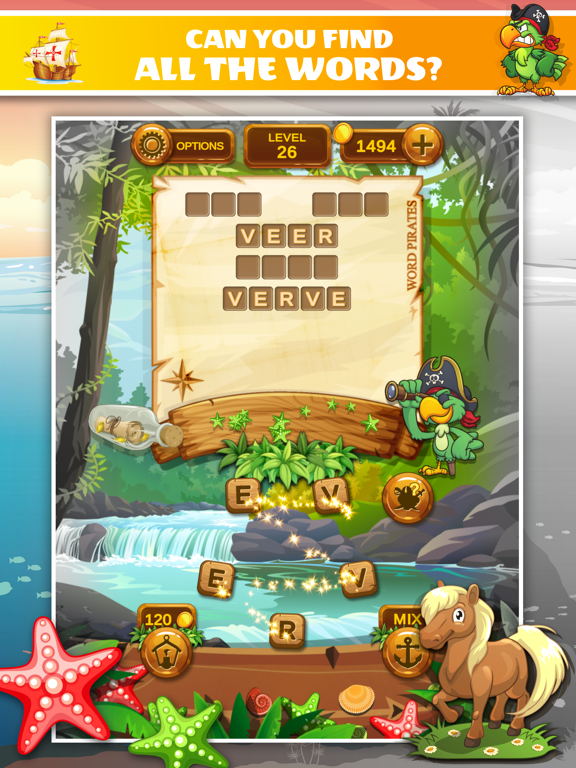 Word Pirates: Word Puzzle Game screenshot 9