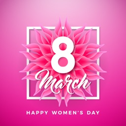 8 March Women's Day Stickers