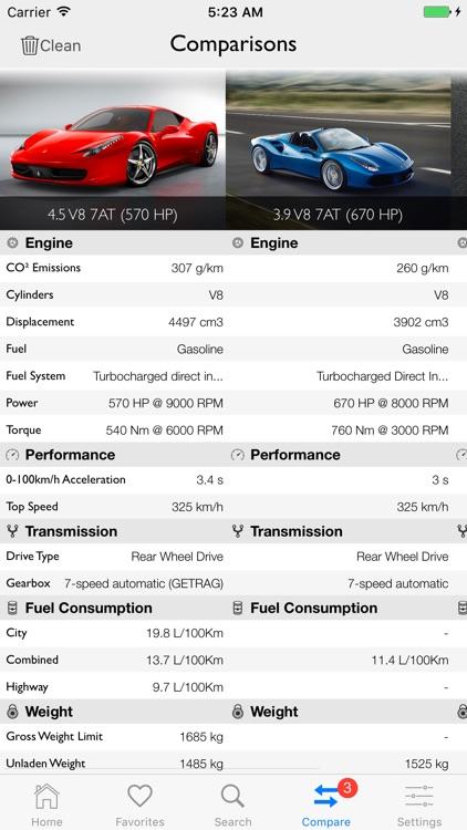Car Specs Pro screenshot-6