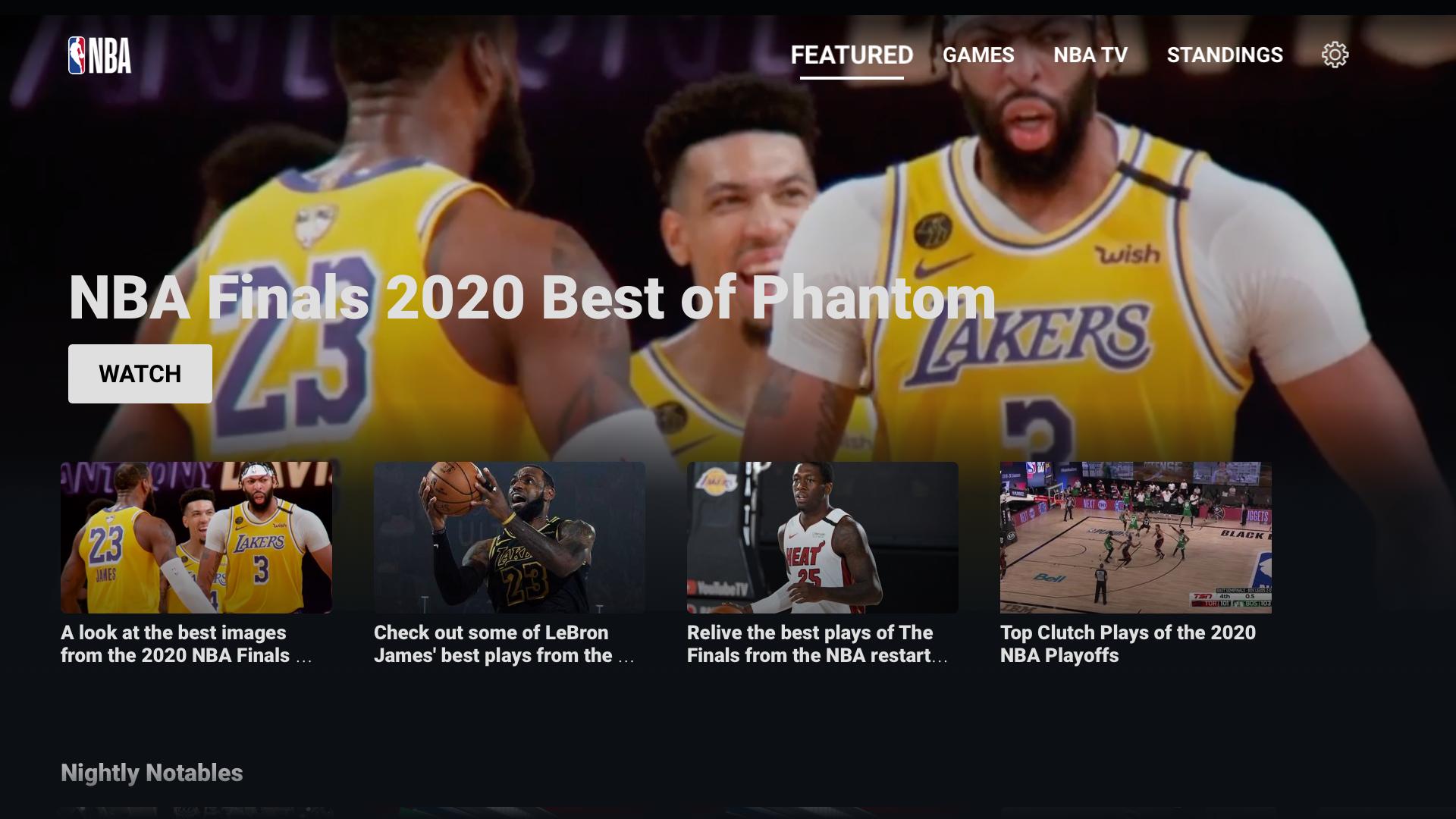 NBA: Live Games & Scores screenshot 9