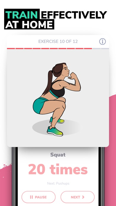 Screenshot for BetterMe: Weight Loss Workouts in Belgium App Store