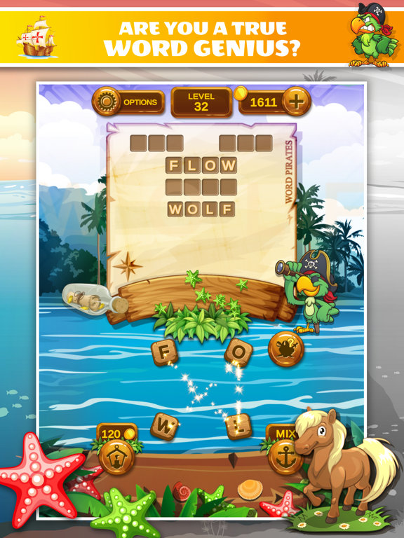 Word Pirates: Word Puzzle Game screenshot 10