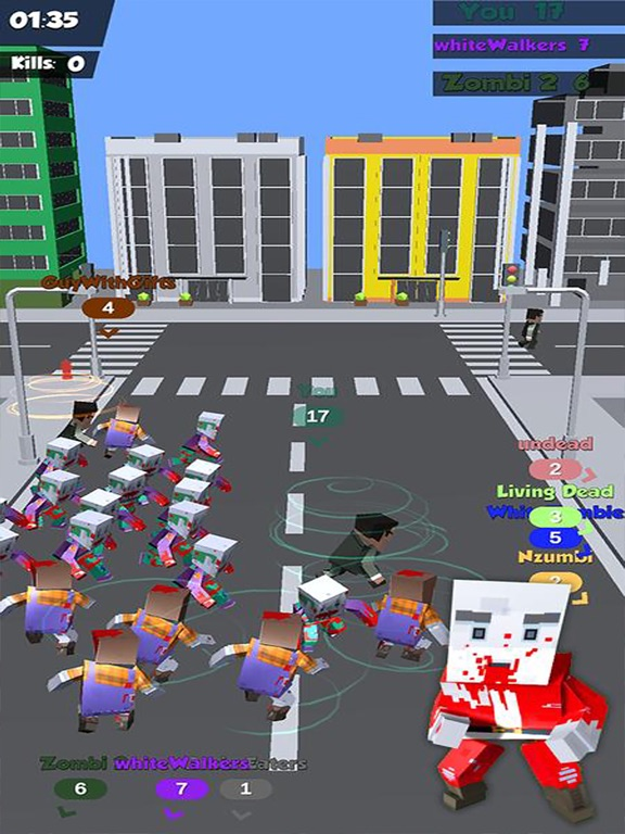 Zombies Crowd In City 2019 screenshot 8