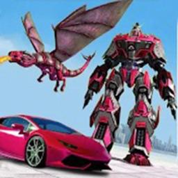 飞龙机器人城市大战