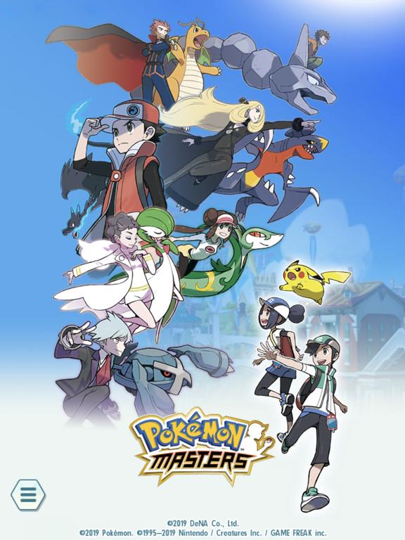 Pokémon Masters на iPad