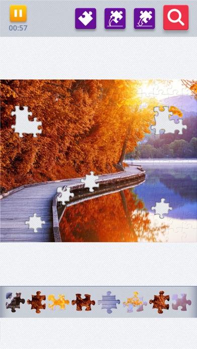 Jigsaw Puzzle Pussel för Vuxna på PC