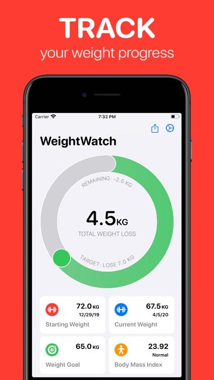 WeightWatch: Weight Tracker