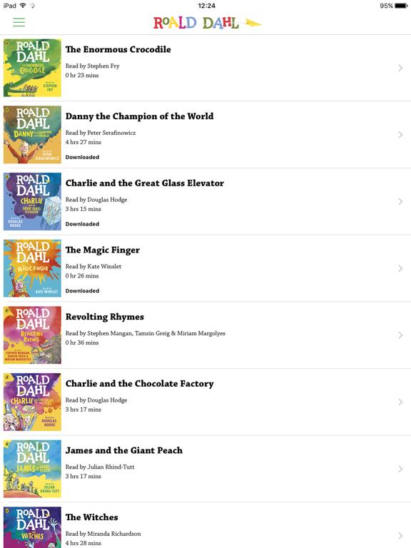 Roald Dahl Audiobooksのおすすめ画像1
