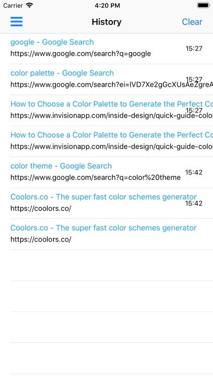 Incognito Private Web Browser screenshot-3