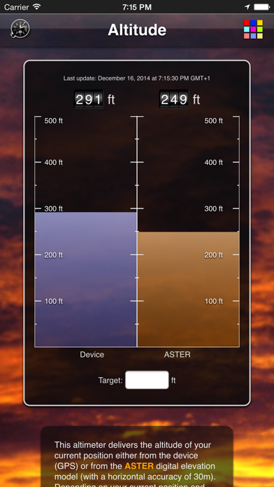Altitude App review screenshots
