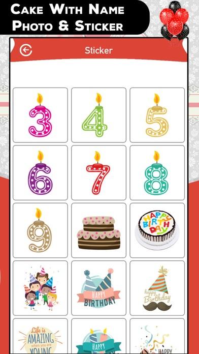 Cake With Name Photo & Sticker screenshot four