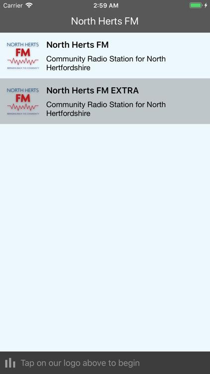 North Herts FM Player