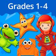Splash Math Grades 1-4 comprehensive and interactive workbook