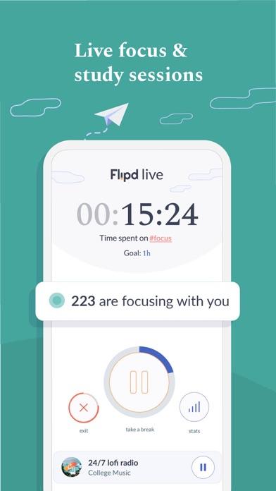 Flipd Focus & Study Timerのおすすめ画像1