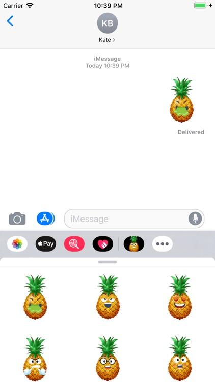 Pineapple Active Sticker