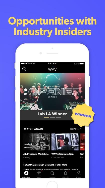 WAV - Music & Live Streams
