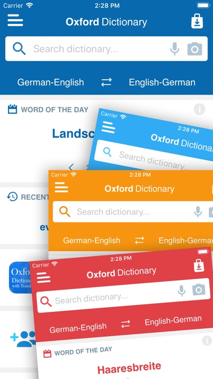 Conc. Oxford German Dictionary screenshot-4