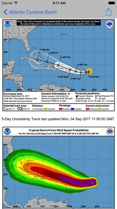 Screenshot #1 pour global storms pro
