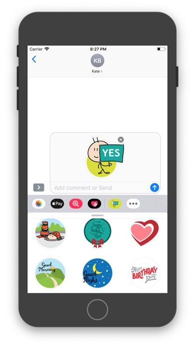 Screenshot of The Toony App