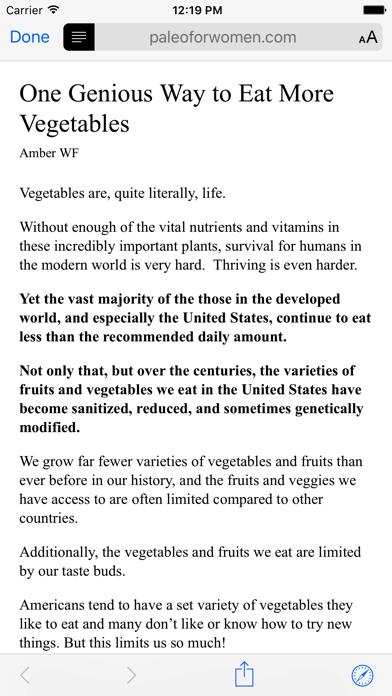Primal Feed Screenshot