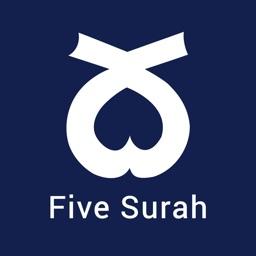 5 Surahs -Mostly read 5 Surah